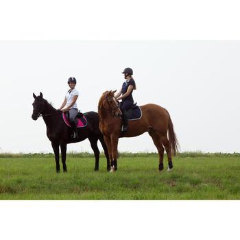 Paardrijbroek dames ruitersport BR500 met inzetstukken - 1127277