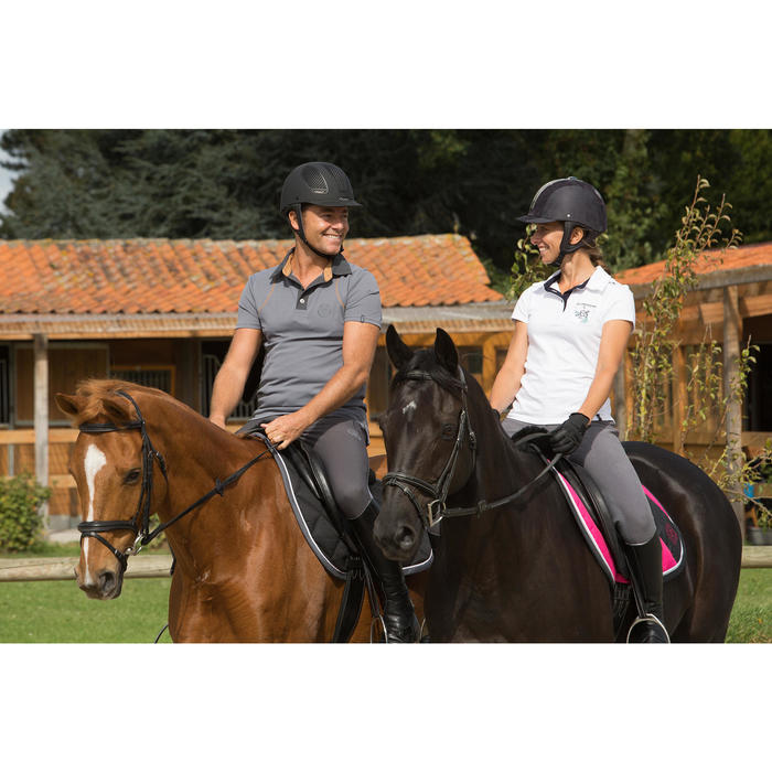 Filet + rênes équitation cheval et poney EDIMBURGH marron