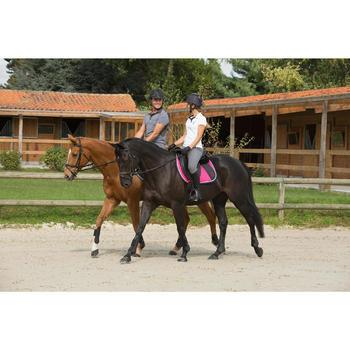 Minichaps équitation adulte PADDOCK 700 cuir - 1127313