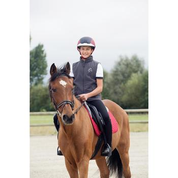 Casque équitation SAFETY CABRIOLE rouge et - 1127345