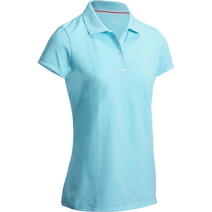 Polo de golf femme manches courtes 500 temps tempéré - 1127393