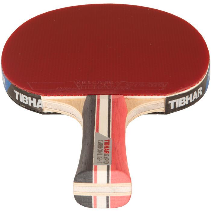 Tibhar raquette de tennis de table en club carbon pro - Raquette de tennis de table competition ...