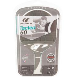 Tafeltennisbatje Tacteo 50 outdoor grijs