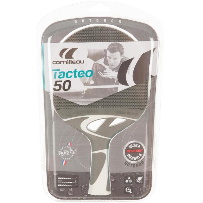 Tafeltennisbat free Tacteo 50 outdoor grijs