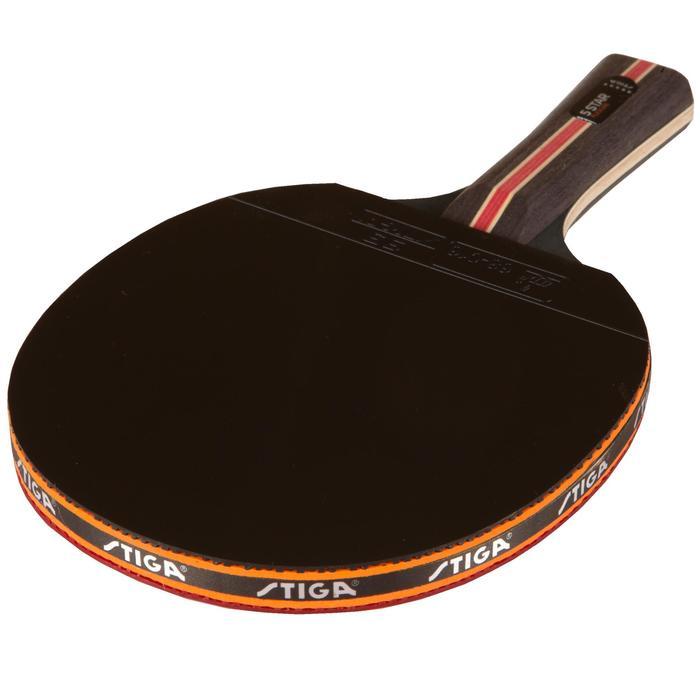 Stiga raquette de tennis de table en club flexure 5 decathlon - Raquette de tennis de table decathlon ...