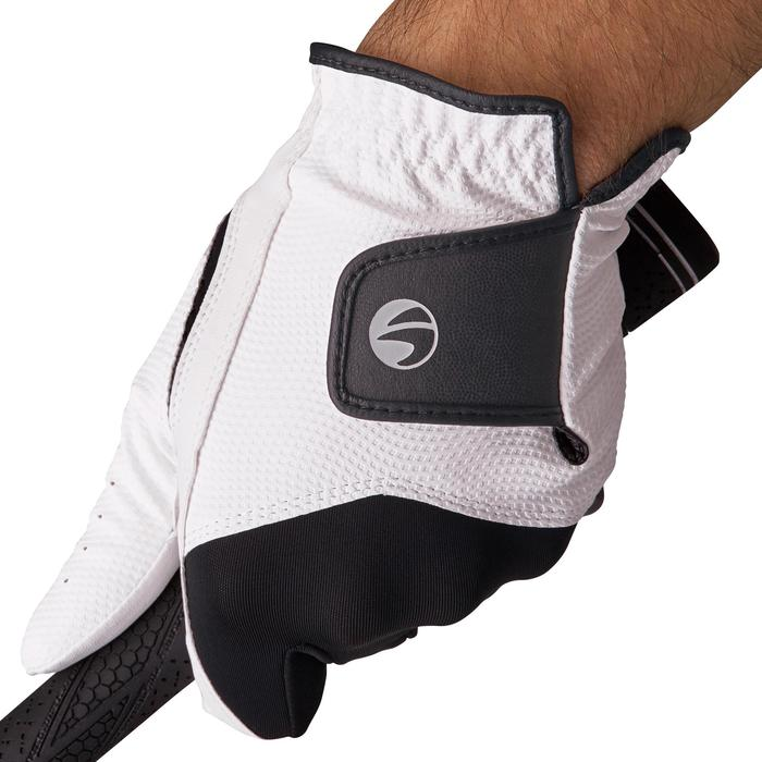 Golfhandschoen 100 voor heren rechtshandig wit