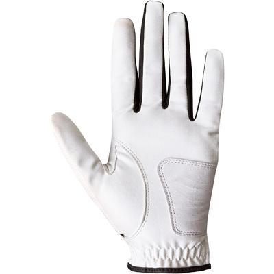 Gant de golf femme 100 débutante droitière blanc