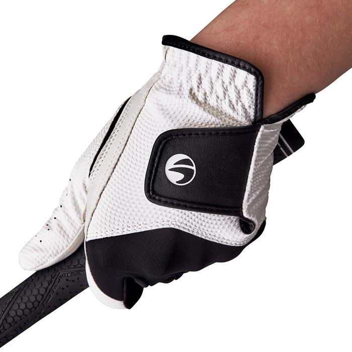 Gant de golf femme 100 débutante droitière blanc - 1127605