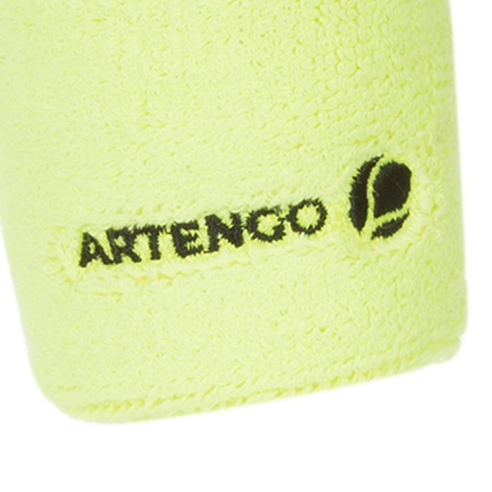 Schweißband Tennis Handgelenk gelb