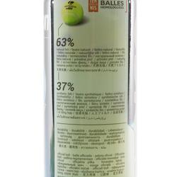 BALLE DE TENNIS COMPETITION TB 920 *4 JAUNE