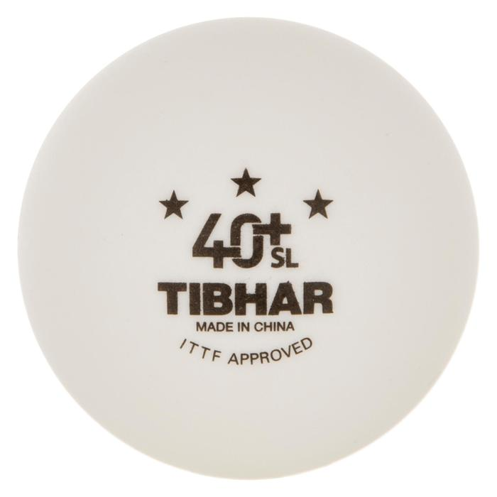 BALLES DE TENNIS DE TABLE SL 3* 4+ X 72 BLANCHES
