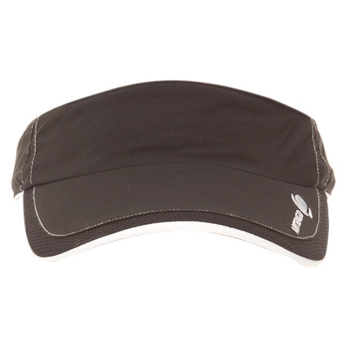 Schirmmütze Tennis-Cap Visier Damen schwarz