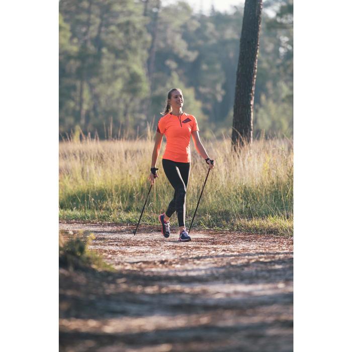 Nordic walking stokken PW P500 rood / zwart