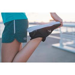 Chaussures marche sportive femme Soft 180 Strap noir / blanc