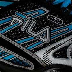 Fitness skates Plume voor volwassenen zwart/blauw - 11280