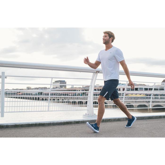 Chaussures marche sportive homme Soft 180 strap bleu foncé - 1128021