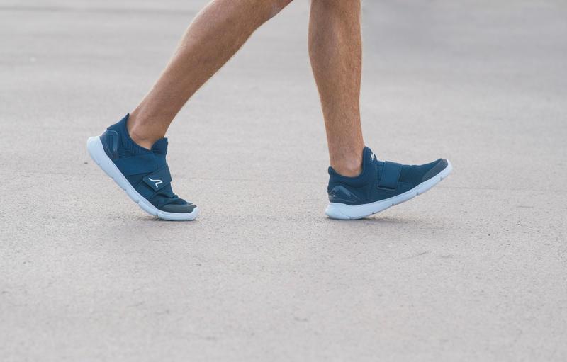 Walking Shoes for Men Soft 180 Strap - Blue/White