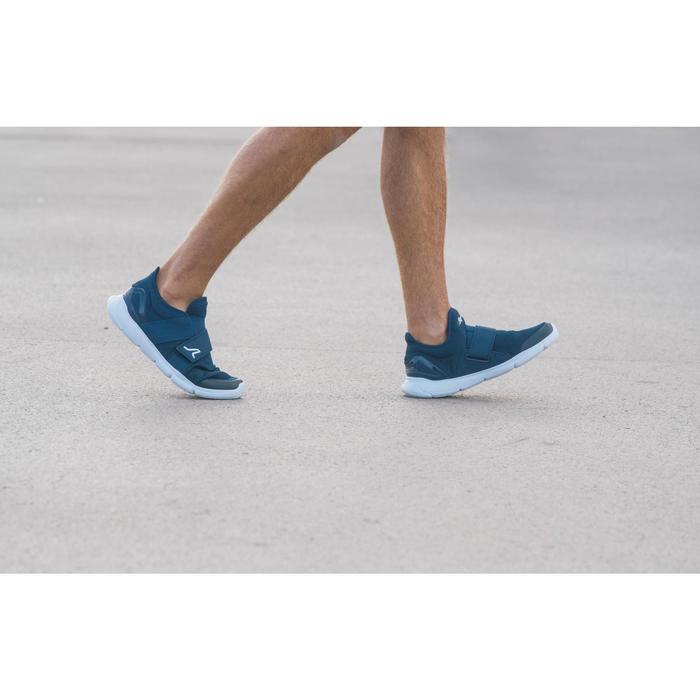 Chaussures marche sportive homme Soft 180 strap bleu foncé - 1128028