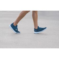Freizeitschuhe Walking Soft 180 Strap Herren blau/weiß