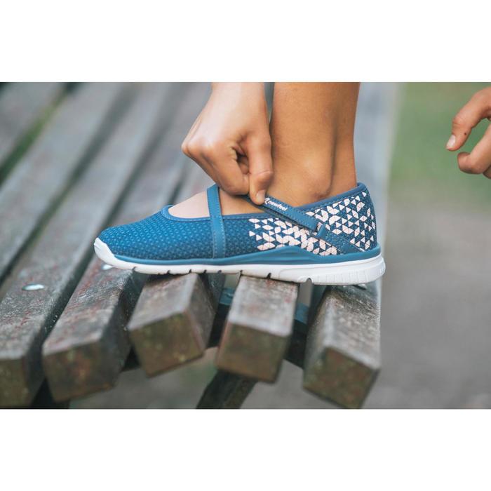Chaussures marche sportive enfant ballerine marine - 1128040