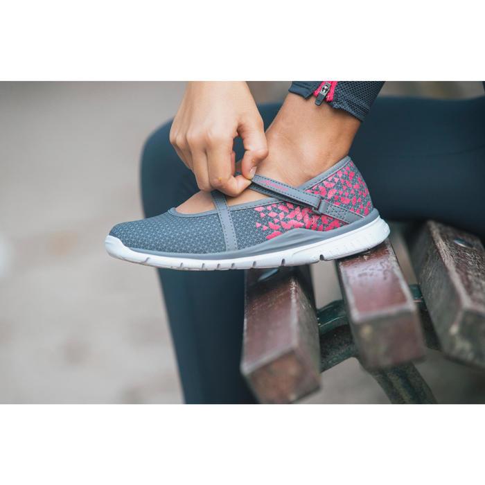 Chaussures marche sportive enfant ballerine marine - 1128042
