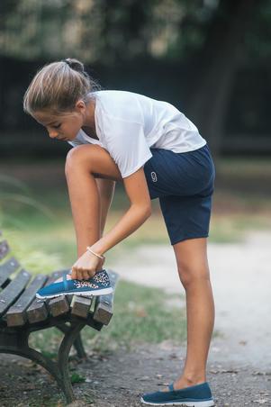 Sepatu Balet Jalan bugar Anak-anak - Navy/Merah Muda