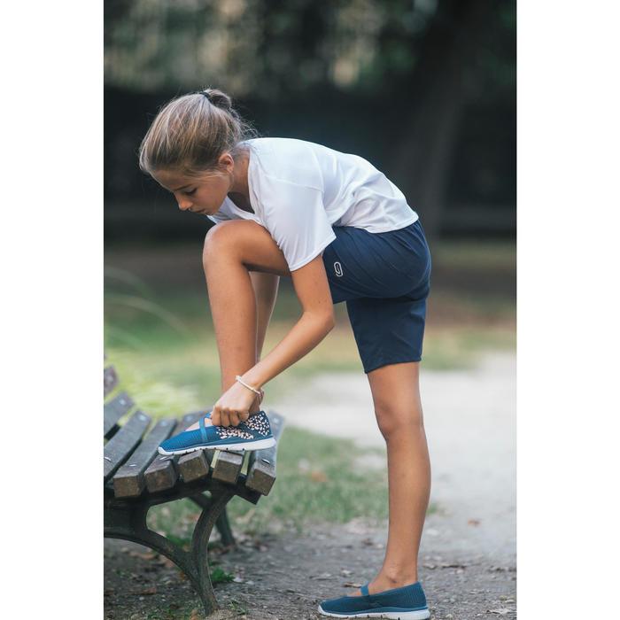 Chaussures marche sportive enfant ballerine marine - 1128043