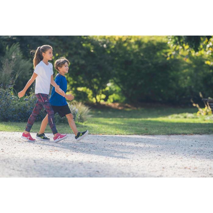 Zapatillas Caminar Newfeel Soft 140 Fresh Niños Negro/Verde