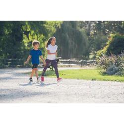 Kindersneakers voor wandelen en sport op school Soft 140 Fresh roze