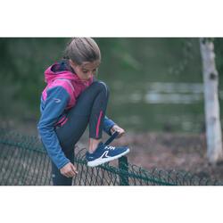 Kindersneakers voor wandelen Soft 140 Fresh marineblauw / koraal