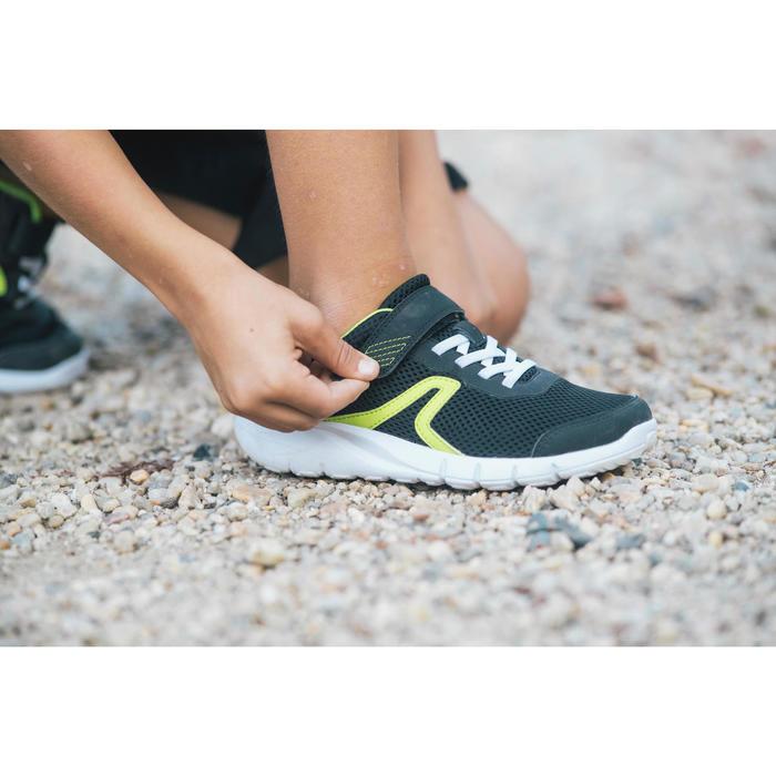 Chaussures marche enfant Soft 140 Fresh noir / jaune