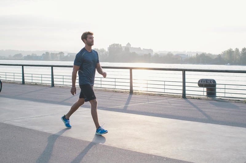 Walking Shoes for Men Soft 540 - Grey