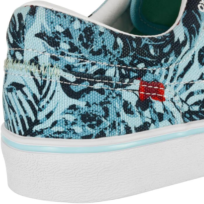 Chaussures basses skateboard-longboard adulte VULCA CANVAS L allover pois - 1128124