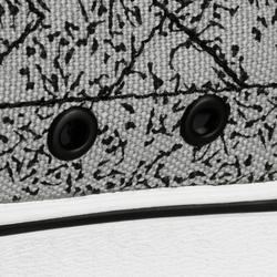 Skateschuh Sneaker Vulca 100 Canvas M Longboard Erwachsene allover grau