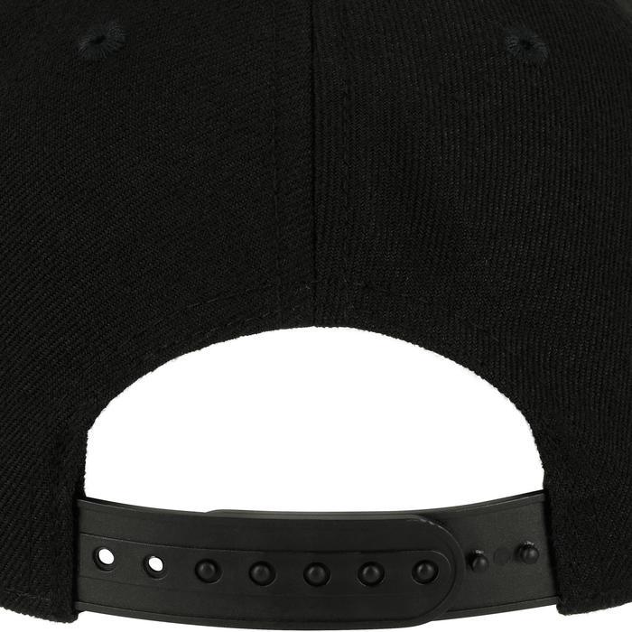 Casquette skateboard enfant CAP500 LOGO CUBE full black