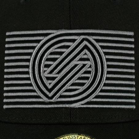 """""""Cap 500 Cube Logo"""" vaikiška riedlentininkų kepuraitė – juoda"""