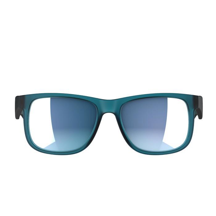 lunettes de soleil de marche sportive adulte WALKING 400 bleues catégorie 3 - 1128233
