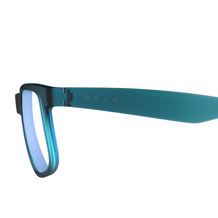 lunettes de soleil de marche sportive adulte WALKING 400 bleues catégorie 3 - 1128234