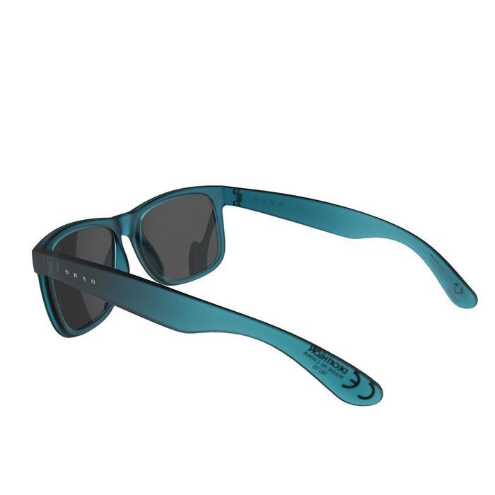 lunettes de soleil de marche sportive adulte WALKING 400 bleues catégorie 3 - 1128235