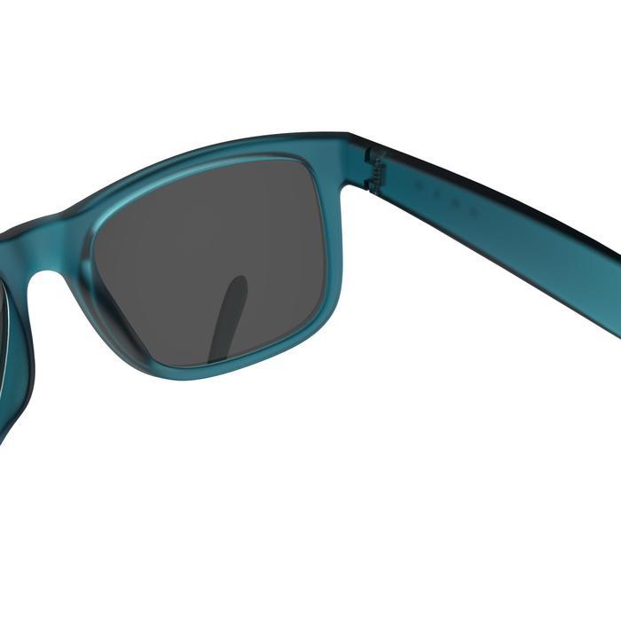 lunettes de soleil de marche sportive adulte WALKING 400 bleues catégorie 3 - 1128236