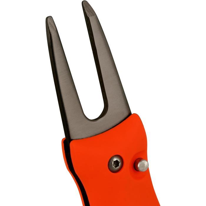Automatische pitchfork oranje