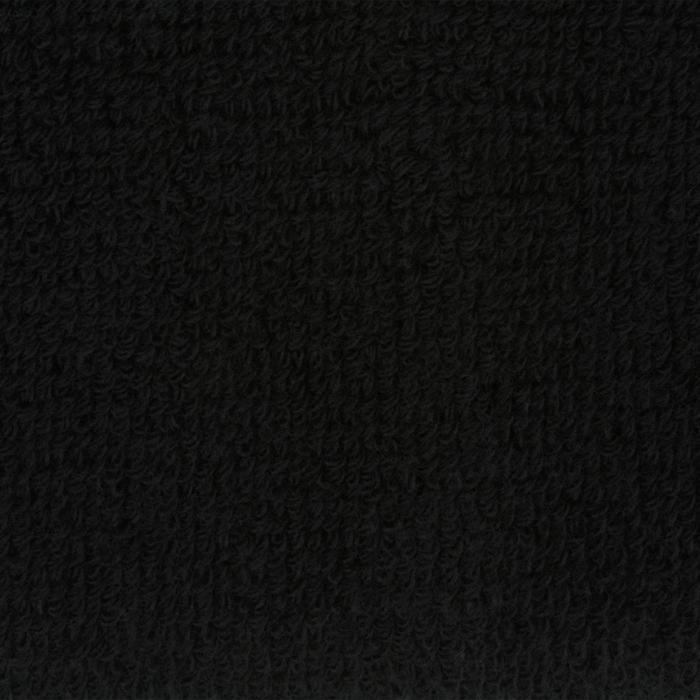 Schweißband Handgelenk Fitness 2er-Pack schwarz
