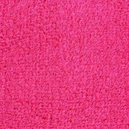 Poignets éponge x2 entraînement rose