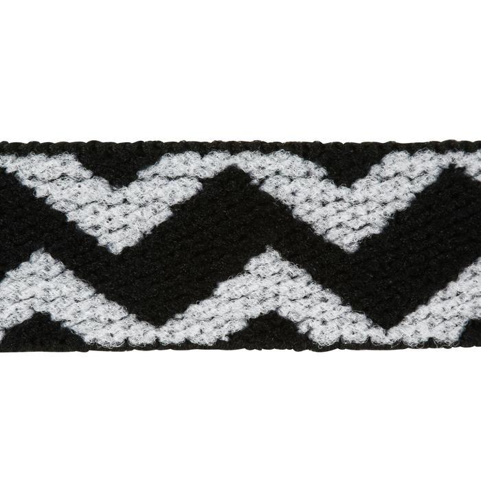 Haarband Fitness Ausdauer 3er-Set Damen grün/grau/koralle