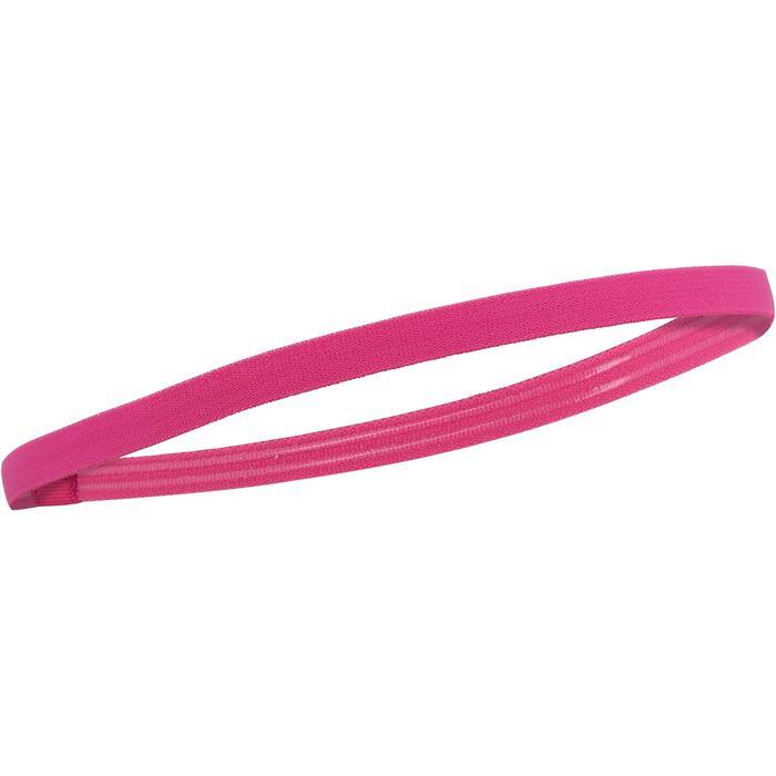 Bandeau élastique (lot de 3) fitness cardio-training femme rose et - 1128419