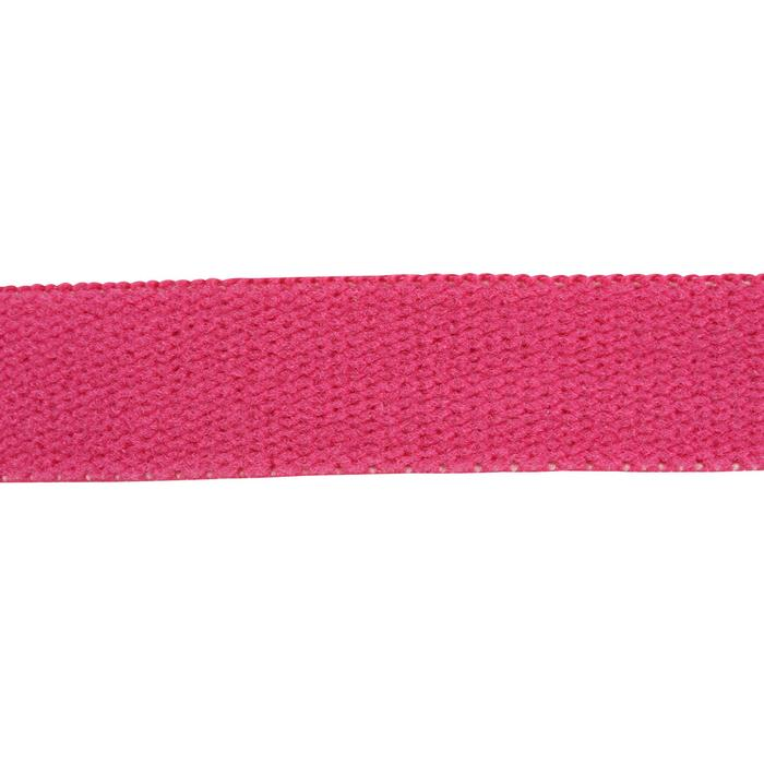 Haarband Fitness 3 Stk. Damen schwarz/rosa
