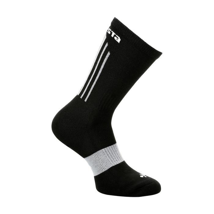 Chaussettes de Basketball adulte Mid 500 noir