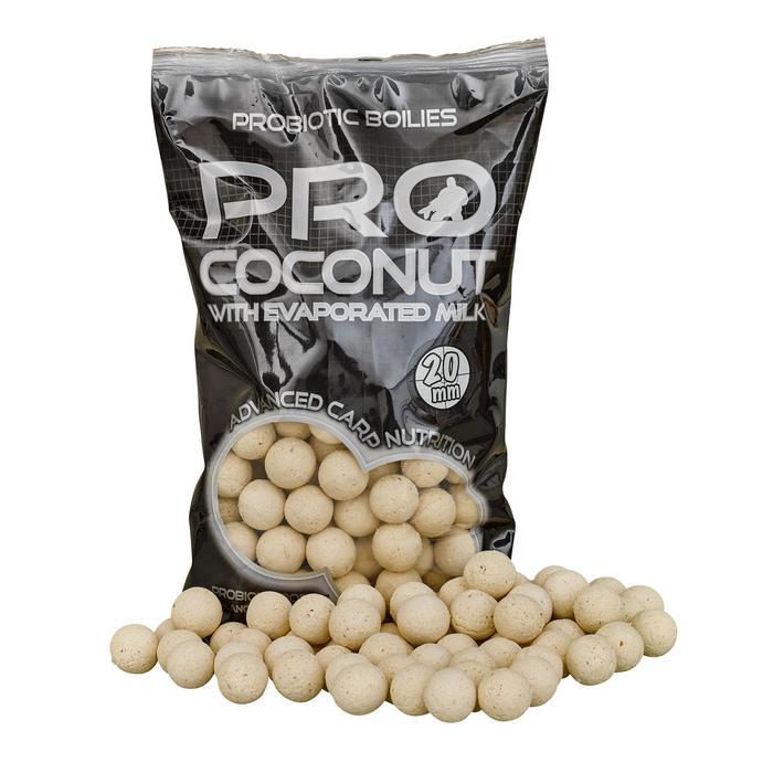 Boilies karpervissen Probiotic kokosnoot 20 mm