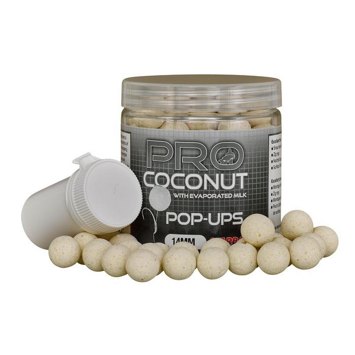 Drijvende boilies Probiotic Coconut Pop Up 14 mm karpervissen