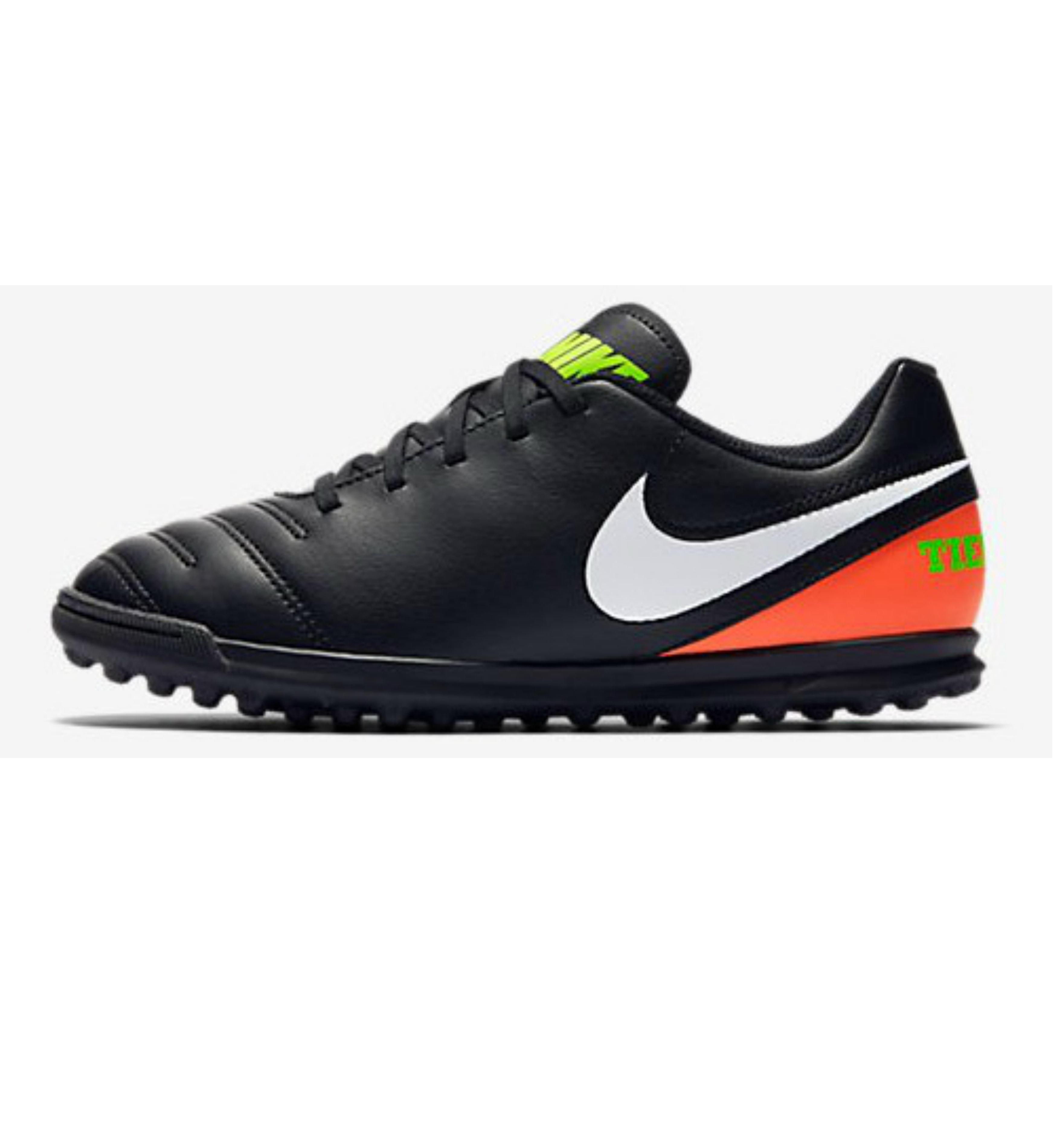 Nike Voetbalschoenen voor kinderen Tiempo Rio TF zwart